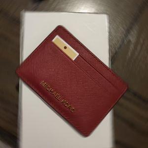 NWT MK Card Holder